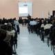El P. Francisco Cruz, L.C., impartiendo una de las conferencias sobre el amor esponsal.