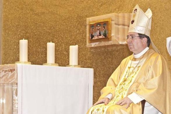 El Nuncio celebró la Eucaristía en acción de gracias por los trabajos que se realizan a favor de la familia.