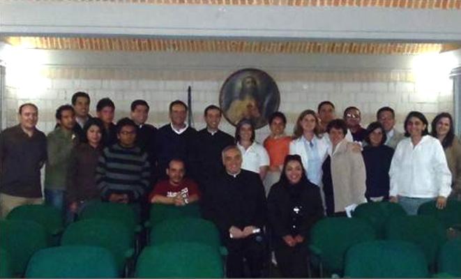 Grupo de directores regionales que participaron en la convención anual del apostolado Águilas Guadalupanas.