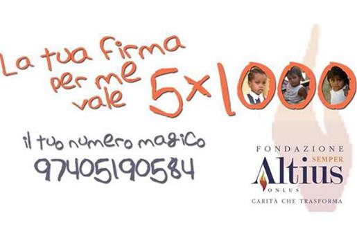 Fondazione Semper Altius 5x mille