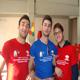 """Tre giovani """"angeli"""" di Catania."""