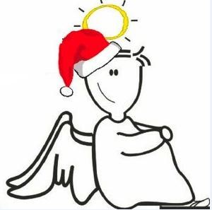 Angeli per un giorno:logo Natale