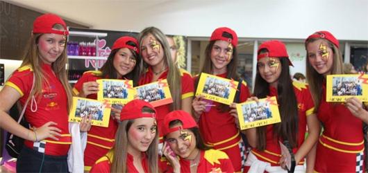 Equipo de Cars, del Colegio Cumbres, ganadoras de la 2° categoría del New Gen 2010.