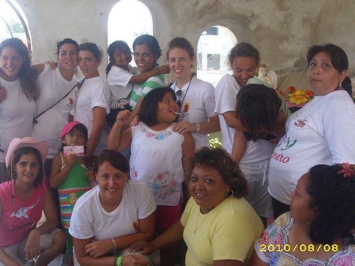 Le missioni in Messico con le ragazze. Agosto 2010.