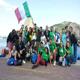 Il gruppo di Gioventù Missionaria alla GMG Rio 2013