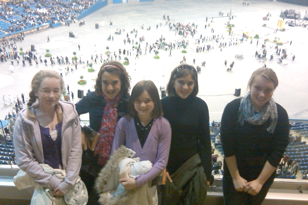 Some of the ECYD members after to the Mass