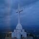 La grande croce sul Monte Krishevaz.