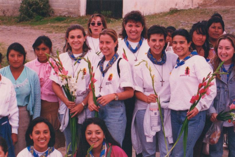 Cristina Danel en su primera
