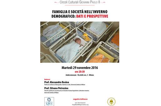Circoli Giovanni Paolo II Milano, 2016