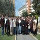 Mons. Clemens incontra i giovani del Regnum Christi a Roma, 16 marzo 2014.