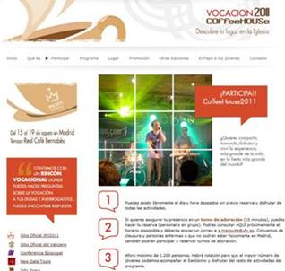 ¿Cómo participar? A esta pregunta responde la sección �¡Participa!� del portal vocacion.org.