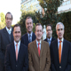 Il Consiglio Generale dei Consacrati. Da sin: Cristián Názer Astorga (Cile), Fernando Rincón Gallardo (Messico), Alberto García Gómez (Spagna), Jorge López González (Spagna), Bernardo Pérez Ruiz Esparza (Messico), e Félix Gómez Rueda (Spagna).
