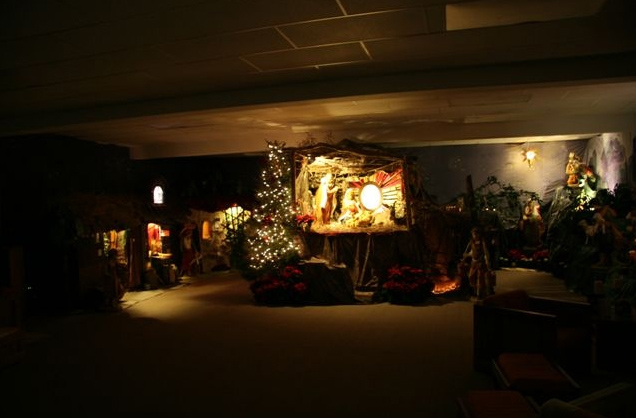 The consecrated women�s Christmas Room