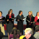 The consecrated women singing