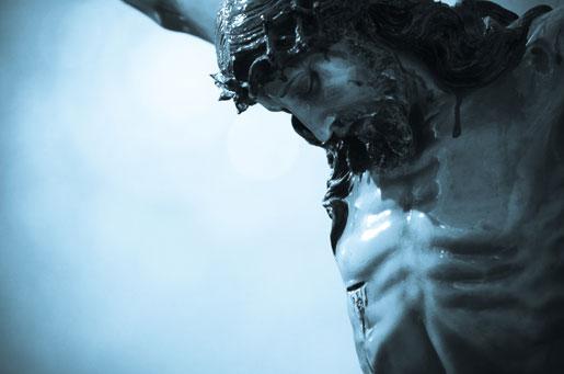 """Il crocifisso ligneo di """"Nostra Signora di Guadalupe"""", a Roma ©LegionaridiCristo"""