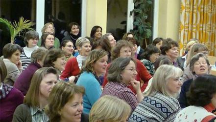 Durante la convención, las señoras analizaron la trayectoria del Movimiento Regnum Christi en el territorio de Alemania.