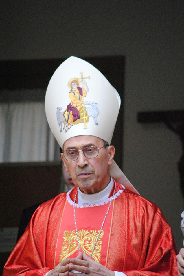 Cardinale Velasio De Paolis, 16 aprile 2011, Roma.