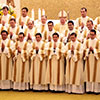 Il gruppo dei novelli diaconi al termine della messa