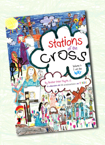 The cover of the first volume of the Stations of the Cross