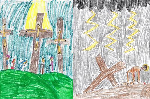 Praying the Stations of the Cross with Children