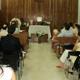 Un momento de la misa con renovaciones matrimoniales, celebrada por el P. Gabriel Guajardo, L.C.