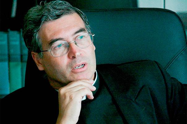 P. Pedro Barrajón, L.C. rector del Ateneo Pontificio Regina Apostolorum.