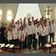 Il gruppo di famiglie missionarie a Orvieto.
