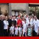 S.E.R. il Card. Angelo Bagnasco insieme al gruppo di �Famiglia Missionaria�.
