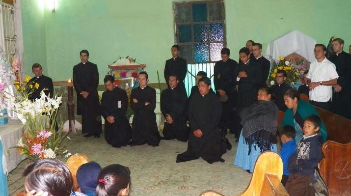Los religiosos tuvieron tiempos para misionar mientras se encontraban en Orizaba, Veracruz.