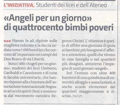 Angeli per un giorno Sicilia