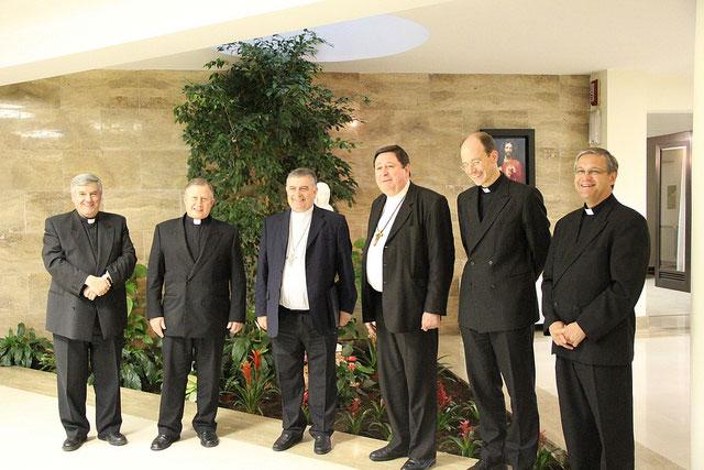 Visita del Card. João Braz de Aviz y Mons. José Rodriguez Carballo