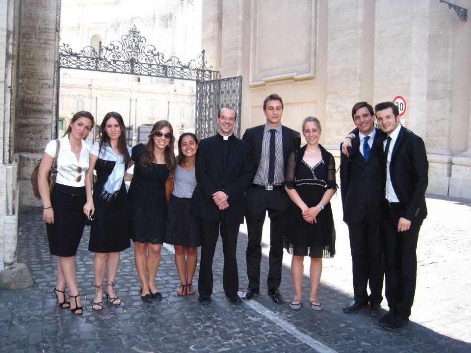 Giovani cappellania universitaria