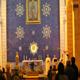P. Hugh Ryan, L.C. vicario parrocchiale presiede la concelebrazione eucaristica per la festa liturgica della Madonna di Lourdes.