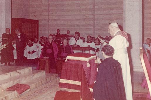 Giovanni XXIII nella parrocchia di Guadalupe a Roma, 1962