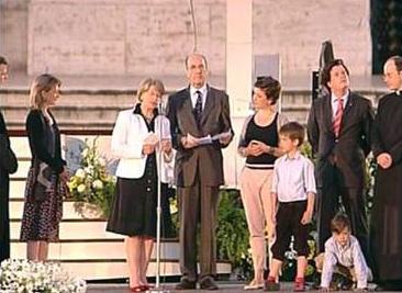 La familia Heereman testimonia todas las realidades de la vida cristiana. A la derecha aparece el P. Sylvester Heereman, L.C., director territorial de Alemania, y a la izquierda, el H. Vincenz Heereman, L.C.