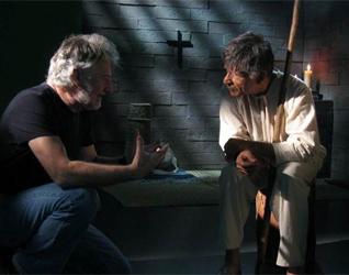 Un momento de la producción de la película 1531.
