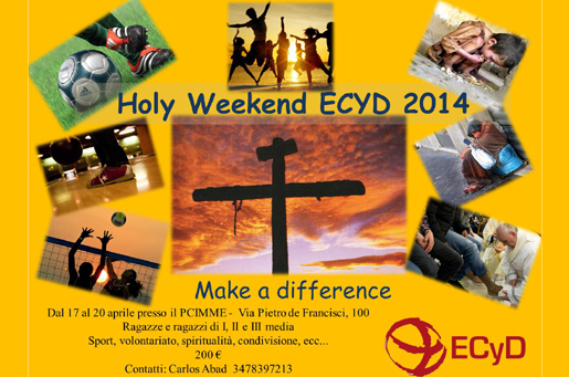 Holy Week End ECyD, Roma 2014