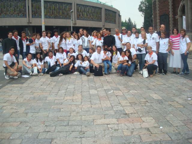 Missionari 2010, Basilica di Guadalupe