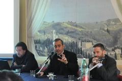 P. Miguel Cavallé,LC, Michele Cerreto, Vincenzo Lombardi