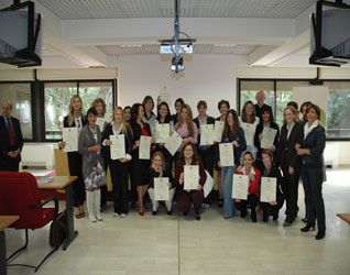 ISSD consegna diplomi 2010