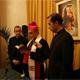 Mons. Salvador Gristina, arzobispo de Catania, durante la bendición del centro �Juan Pablo II�.