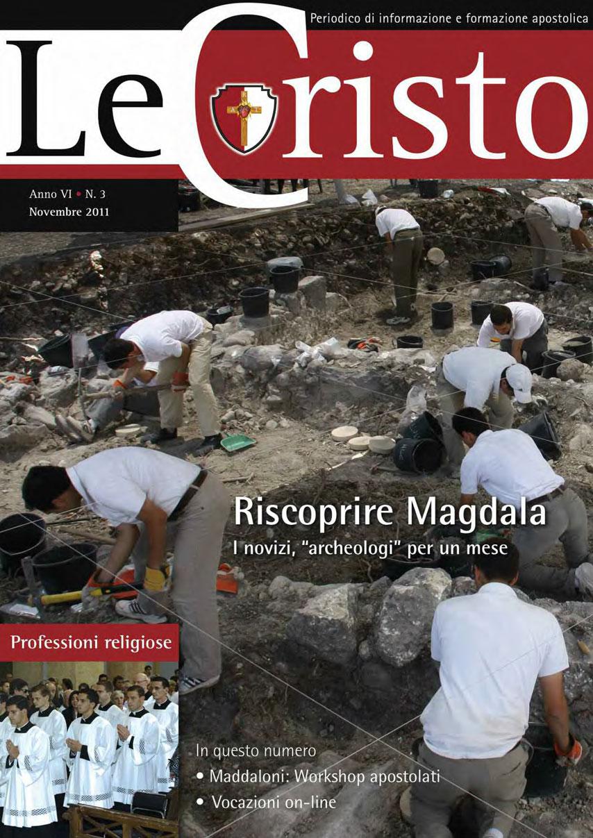LeCristo ITALIA novembre 2011 anno VI n.3