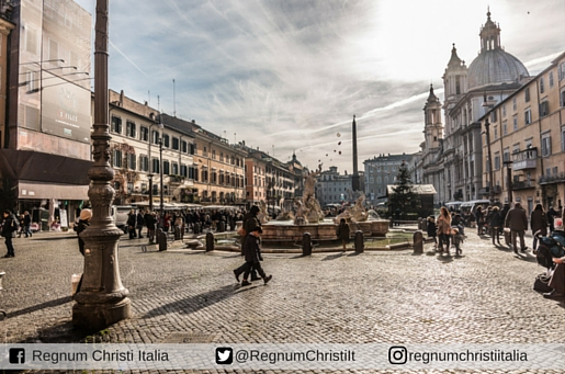 Roma, piazza Navona, 2015