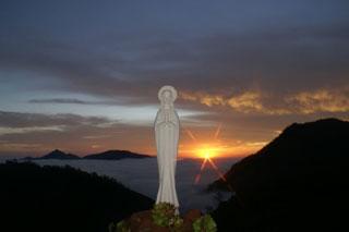 María en el Centro Misionero