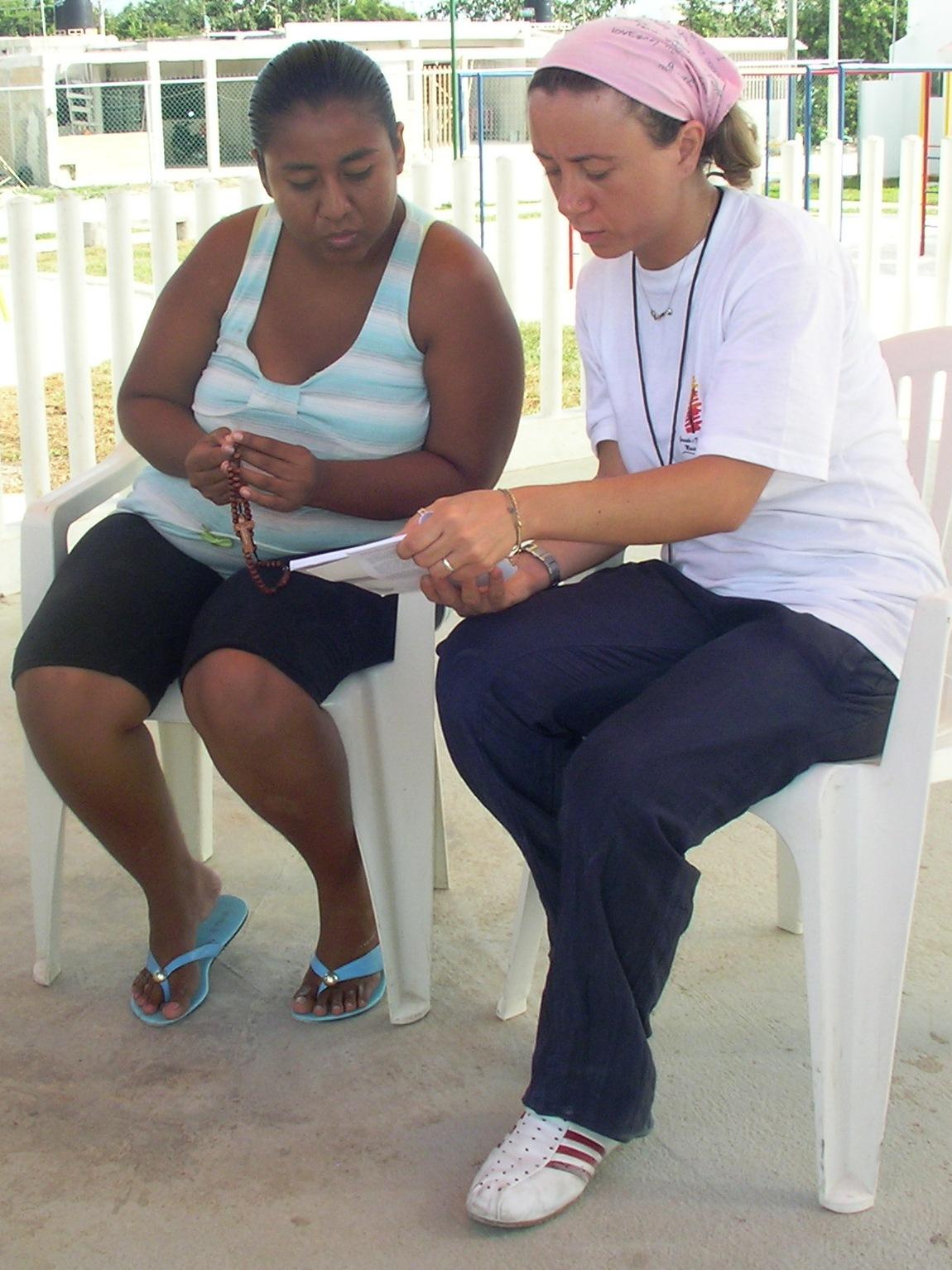 Mariangela, missionaria di GFM in Messico