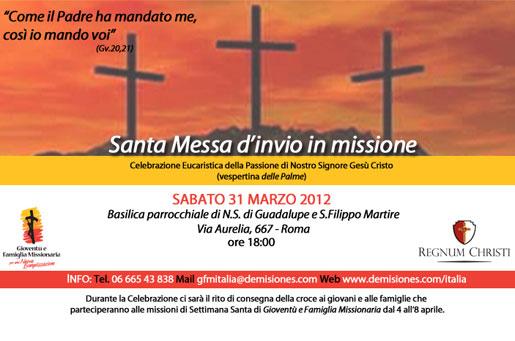 S. Messa invio in Missione 2012