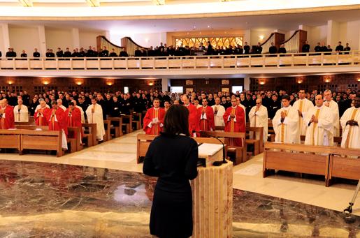 Messa dello Spirito Santo 4 ottobre 2012