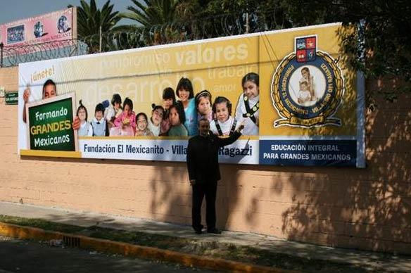 El P. Miguel Cavalle, L.C., presidente de la Fundación �Villaggio dei Ragazzi� de Italia, en la inauguración de la rama mexicana.