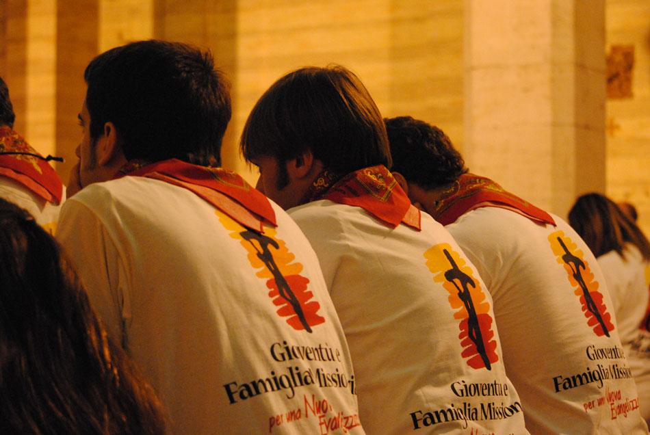 Giovani Missionari della Settimana Santa, 2011.