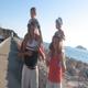 Marcelo e Maria con i figli.